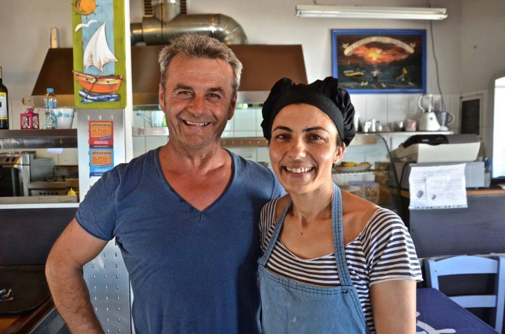 Η ταβέρνα του Ψαρά στην Πλάκα Λεωνιδίου - Greek Gastronomy Guide