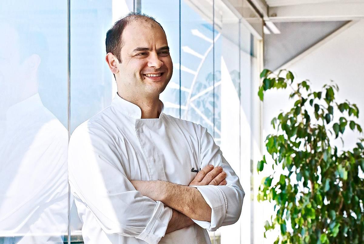 Αλέξανδρος Κοσκινάς - ο σεμνός μάγος του King Georges - Greek Gastronomy Guide