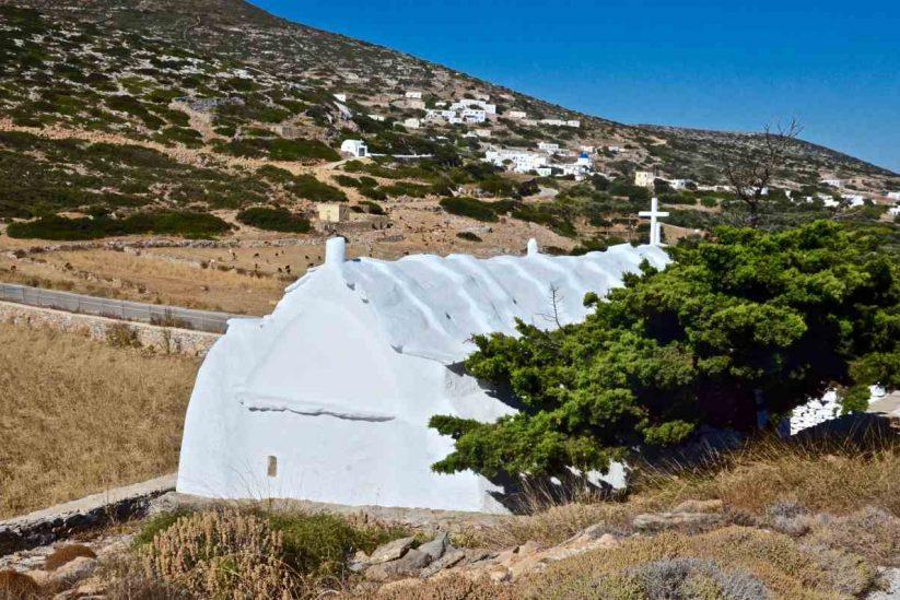 Ξωκλήσια της Αμοργού - Greek Gastronomy Guide
