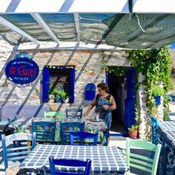 Το καφενεδάκι στον Ασφοντυλίτη - Αμοργός - Greek Gastronomy Guide