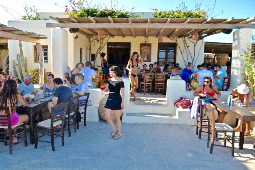Καλόφεγγο στο Πορί (Πάνω Κουφονήσι) - Greek Gastronomy Guide