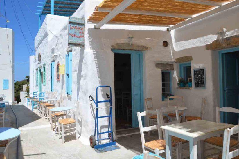 Μεζεδοπωλείο «Λουκάκη ξανά» - Αμοργός - Greek Gastronomy Guide