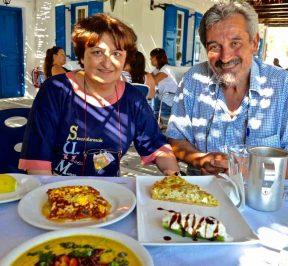 Ταβέρνα Πολύδωρος - Παραλία Κουμπάρα, Ίος - Greek Gastronomy Guide