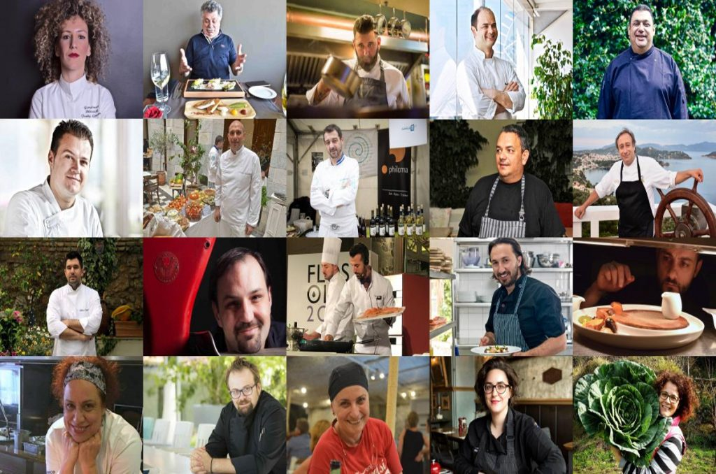Πορτραίτα Σεφ - Ελληνική Κουζίνα - Greek Gastronomy Guide