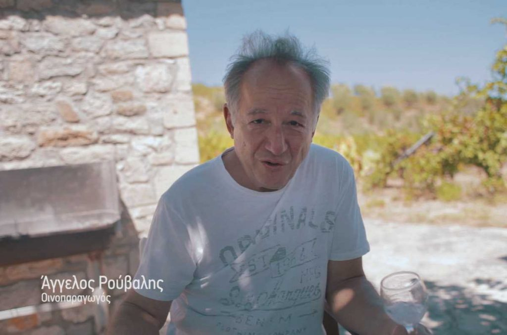 Συζήτηση με τον Άγγελο Ρούβαλη (βίντεο) - Greek Gastronomy Guide