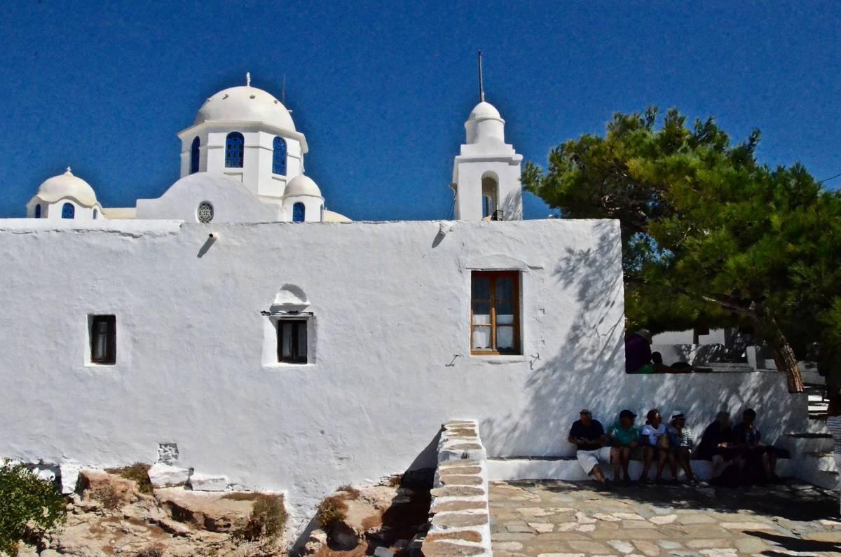 Το ελληνικό πρωινό της Σίφνου στην Παναγία του Βουνού - Greek Gastronomy Guide