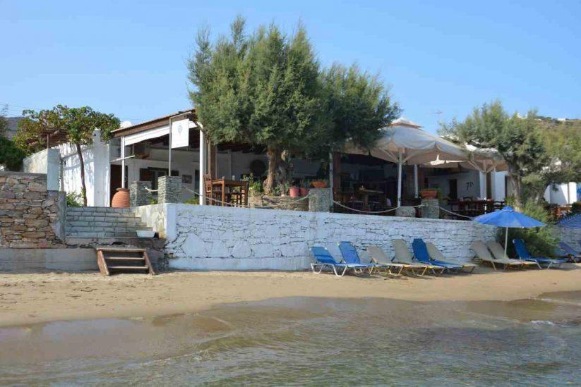 Ταβέρνα Νερό και Αλάτι - Πλατύς Γιαλός, Σίφνος - Greek Gastronomy Guide