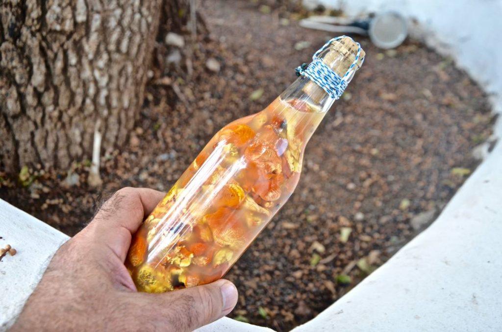 Παραδοσιακό μπουκάλι σπινιάλου - Κάλυμνος - Greek Gastronomy Guide
