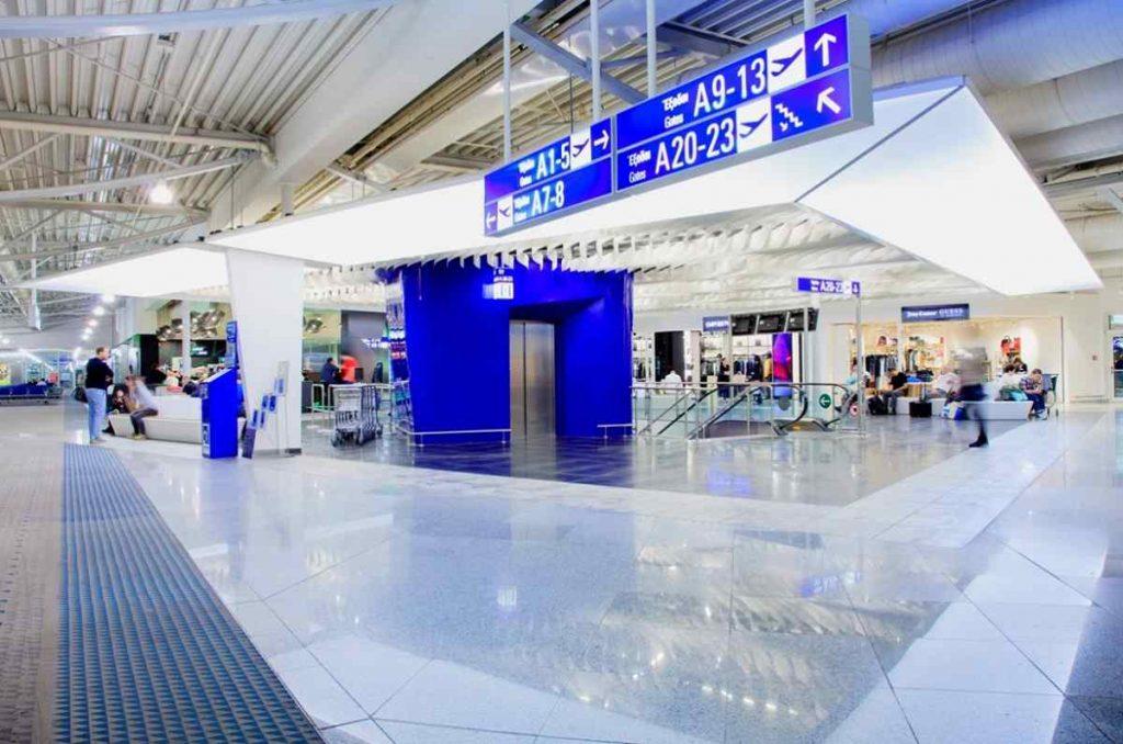 Το αεροδρόμιο της Αθήνας παρουσιάζει τη νέα εικόνα του