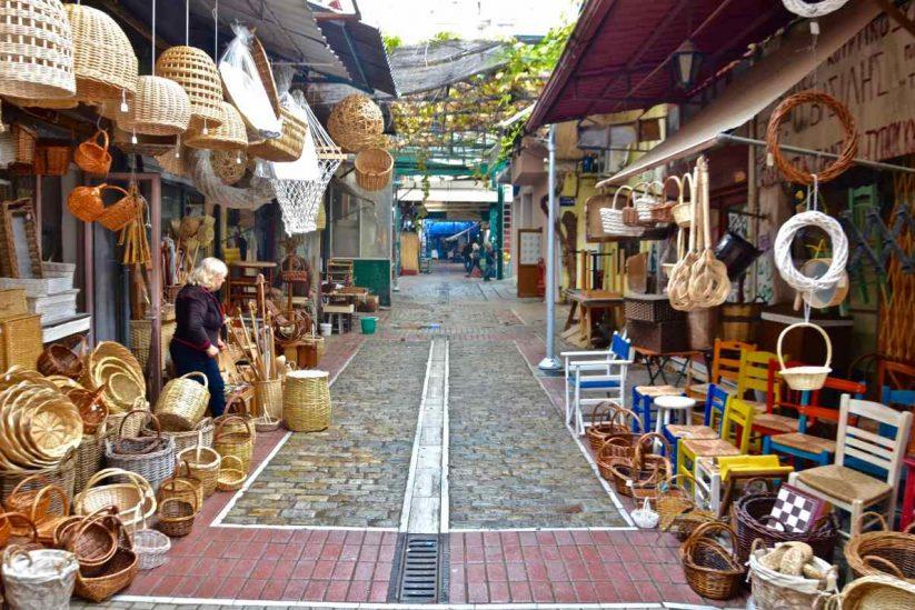 Καπάνι ή Αγορά Βλάλη - Θεσσαλονίκη - Greek Gastronomy Guide