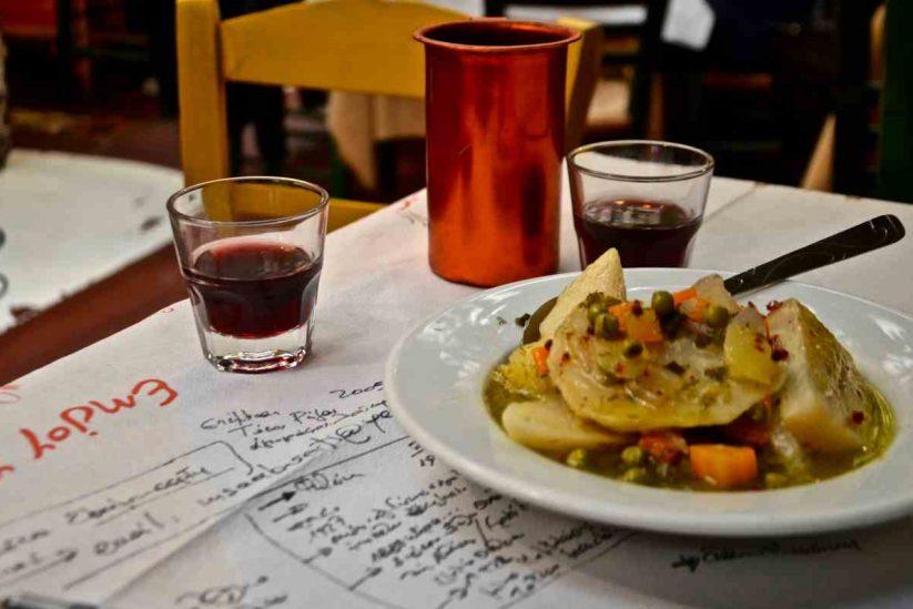 Ταβέρνα Κληματαριά - Πλατεία Θεάτρου, Αθήνα - Greek Gastronomy Guide