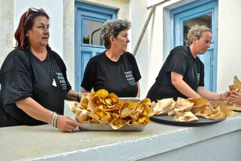 Tinos Food Paths - Τήνος - Greek Gastronomy Guide