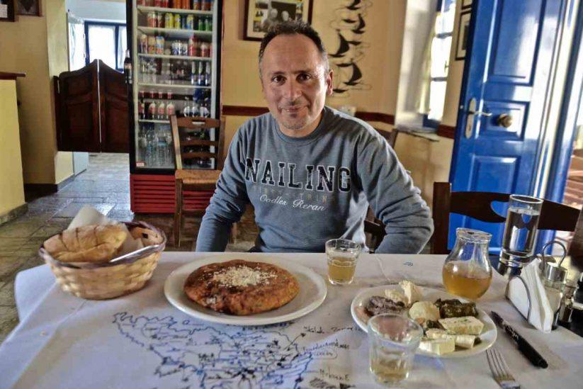 Καφενείο της κυρά Λένης - Κρόκος, Τήνος - Greek Gastronomy Guide
