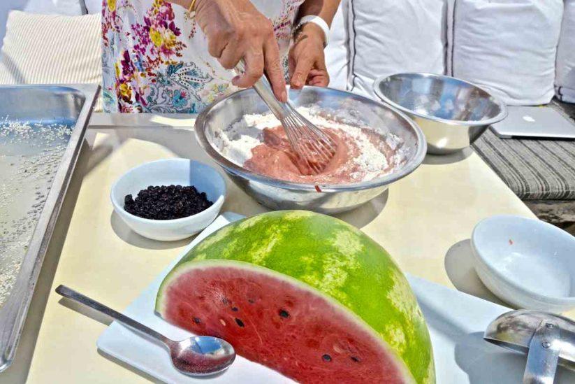 Καρπουζένια ή καρπουζόπιτα - Ίος, Κυκλάδες - Greek Gastronomy Guide
