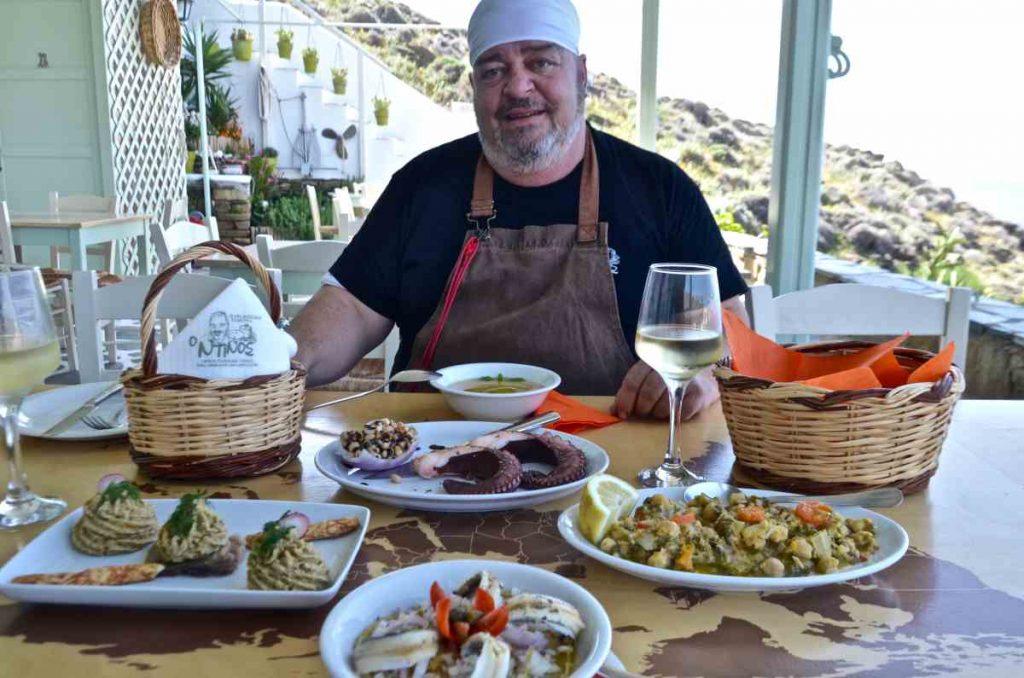 Ταβέρνα Ντίνος - Καρδιανή, Τήνος - Greek Gastronomy Guide