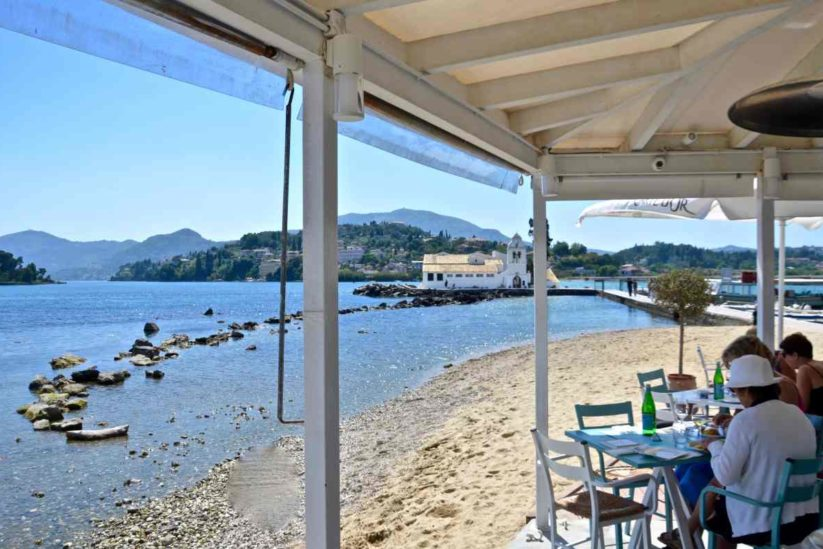 Flisvos Seaside Cafe Restaurant - Κέρκυρα - Greek Gastronomy Guide