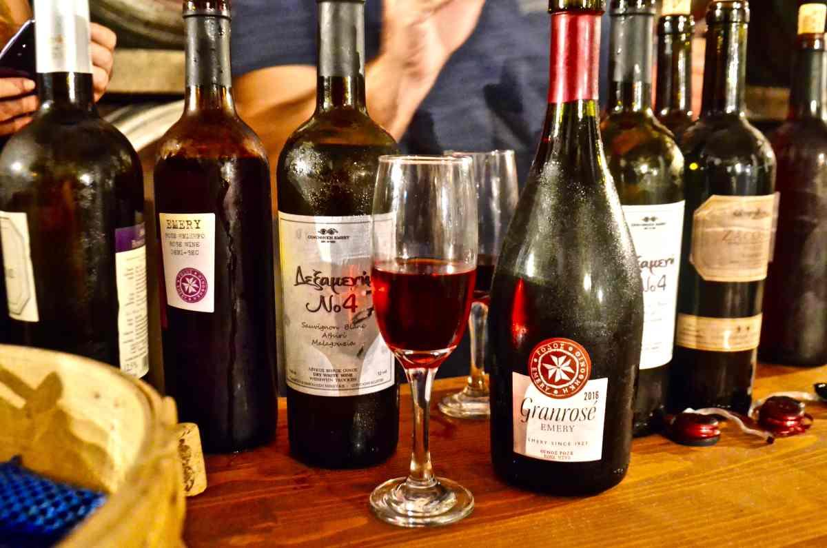 Κρασιά και σούμα - Ρόδος - Greek Gastronomy Guide