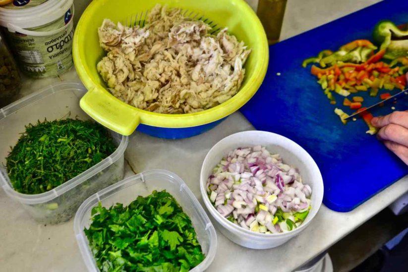 Σαλατούρι - Πάρος, Κυκλάδες - Greek Gastronomy Guide