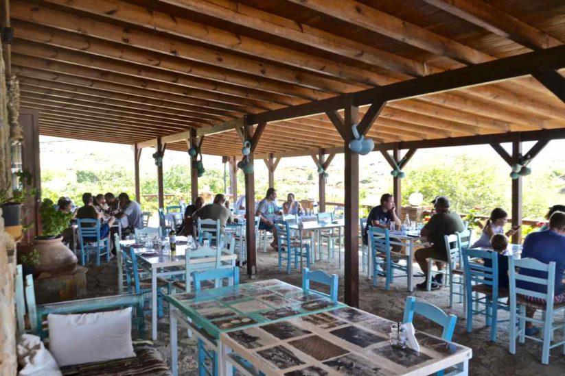 Ταβέρνα Φλωμάρι, Γομάτι, Λήμνος - Greek Gastronomy Guide
