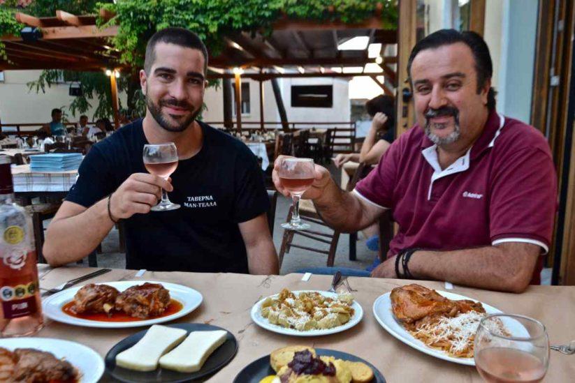 Ταβέρνα του Μαντέλλα - Σαρδές, Λήμνος - Greek Gastronomy Guide