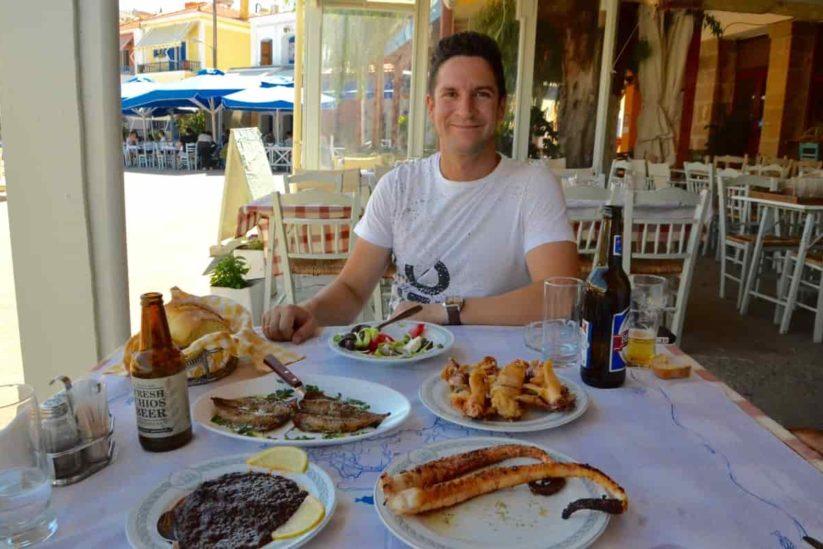 Χίος - ταβέρνες Χίου - Greek Gastronomy Guide