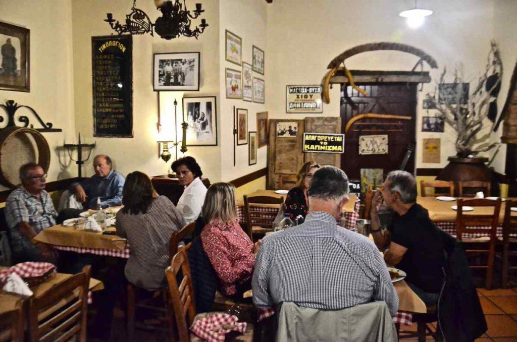Ταβέρνα Χότζας - Γιάννης Λινός, Χίος - Greek Gastronomy Guide
