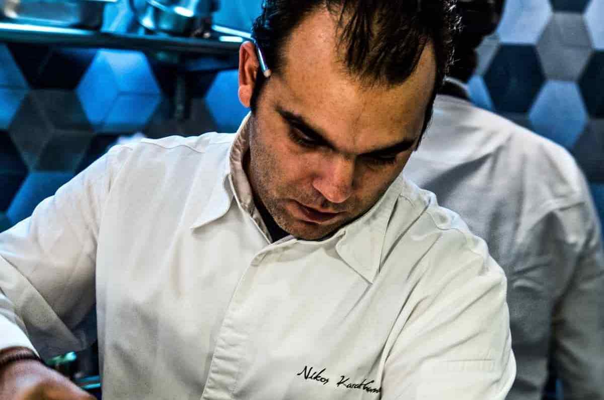 Νίκος Καραθάνος - ο αστεράτος από τα 28 του - Greek Gastronomy Guide