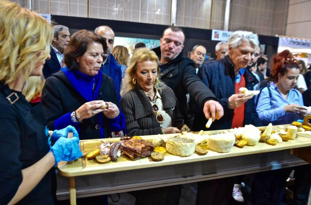Γαστρονομία της Άνδρου και πρώτη κίνηση εξωστρέφειας - Expotrof 2019 - Greek Gastronomy Guide