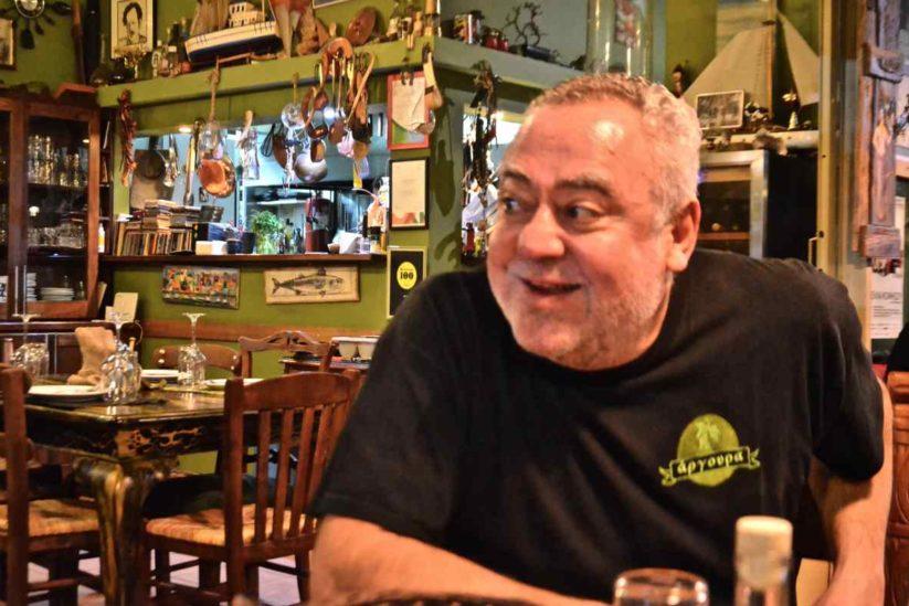 Άργουρα - Νίκος Μιχαήλ - Ψαροταβέρνα στις Τζιτζιφιές - Greek Gastronomy Guide