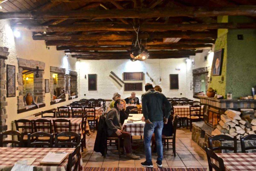 Ταβέρνα Πέστροφες - Άνω Πορόια Κερκίνης Σερρών - Greek Gastronomy Guide