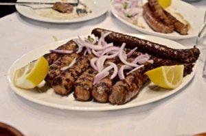 Σουτζούκια και λουκάνικα νεροβούβαλου Κερκίνης - Ταβέρνα Πέστροφες - Άνω Πορόια Κερκίνης Σερρών - Greek Gastronomy Guide
