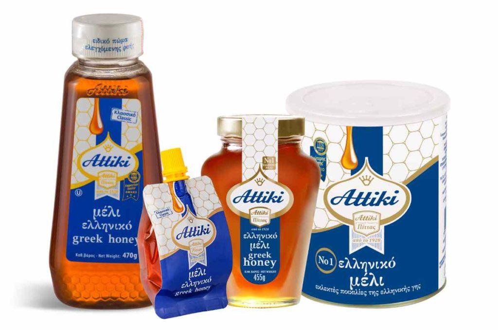 Μέλι Αττική - Αττική Μελισσοκομική Εταιρεία - προϊόντα