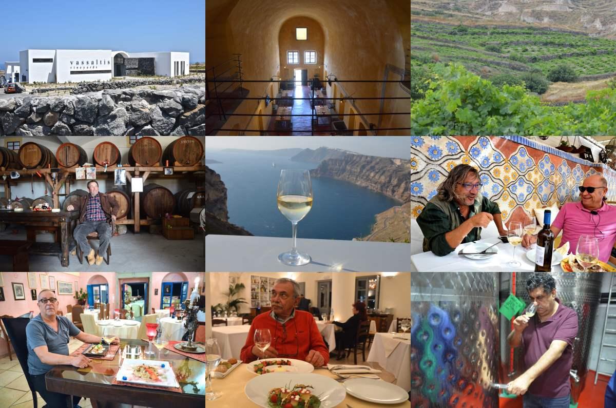 Επιλέξαμε 10 γαστρονομικά στέκια από τις καλύτερες ταβέρνες, εστιατόρια και καφενεία της Σαντορίνης, καθώς και 10 οινοποιεία που πρέπει να επισκεφτείτε!