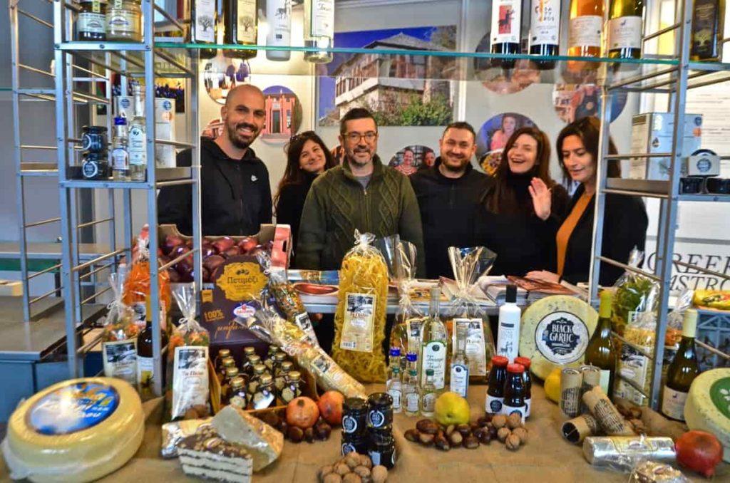 Γαστρονομική Κοινότητα Πηλίου έκθεση Expotrof 2020 - Greek Gastronomy Guide
