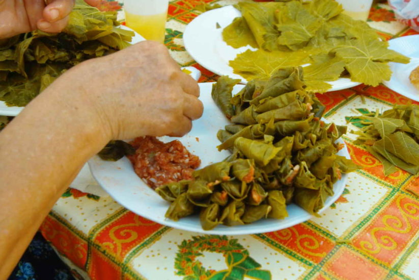 """Κασιώτικα ντολμαδάκια (""""γιαπράκια"""") - Κάσος - Greek Gastronomy Guide"""